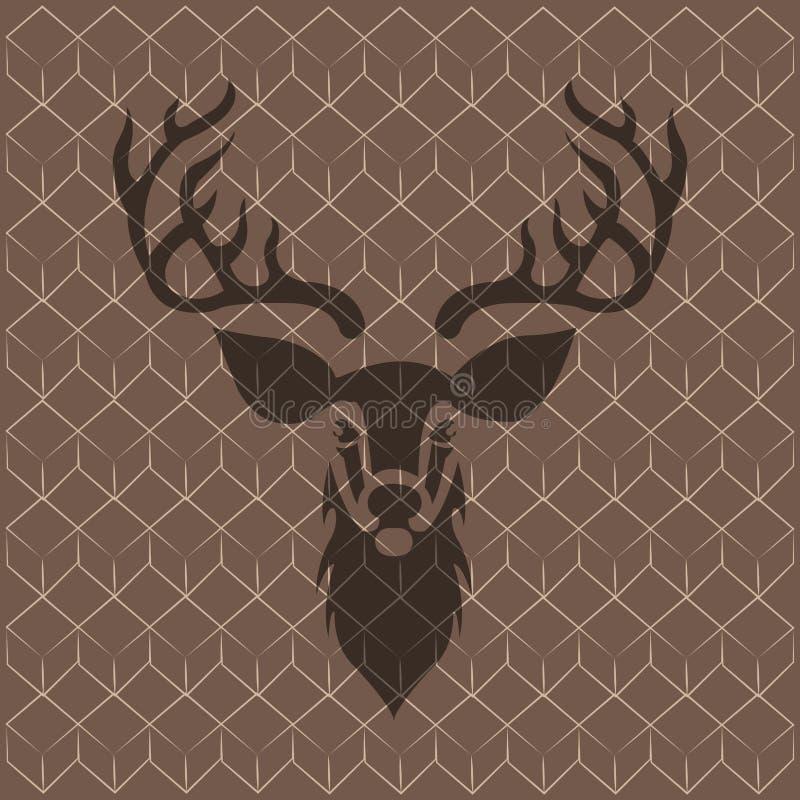 Download Abstrakt hipsterbakgrund vektor illustrationer. Illustration av retro - 106830746
