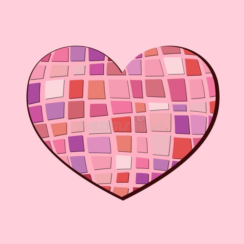 Download Abstrakt hjärta vektor illustrationer. Illustration av element - 37348624