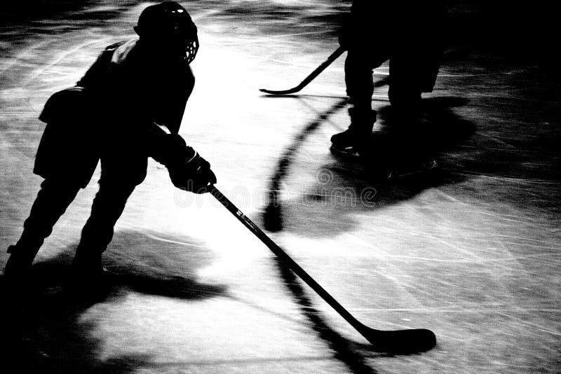 abstrakt hockey arkivbild