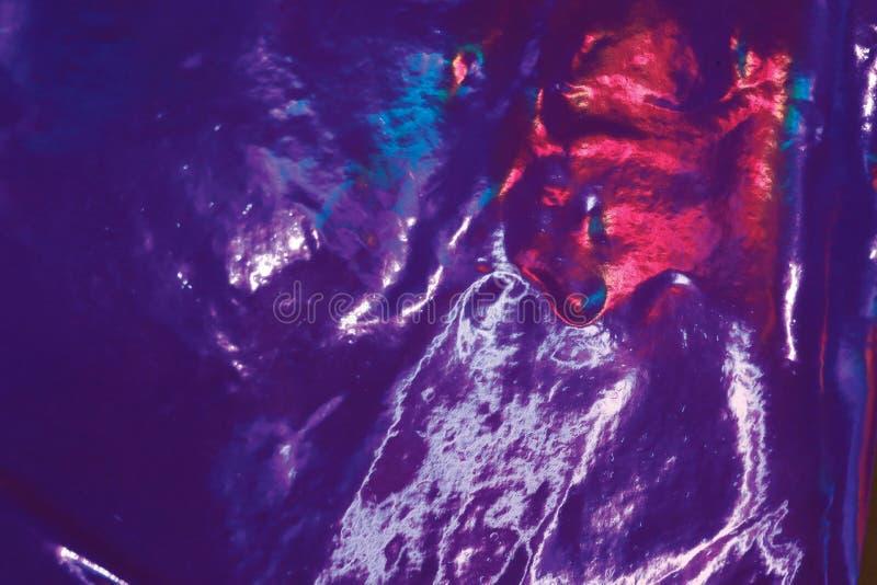 Abstrakt holographic bakgrund för färgrik fantasi royaltyfria bilder
