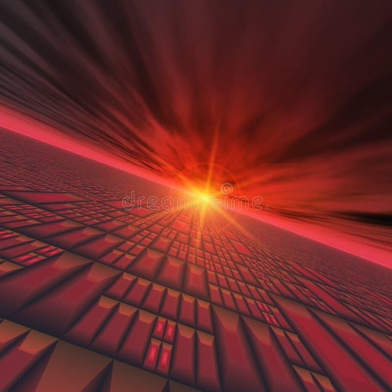 abstrakt horisontteknologi