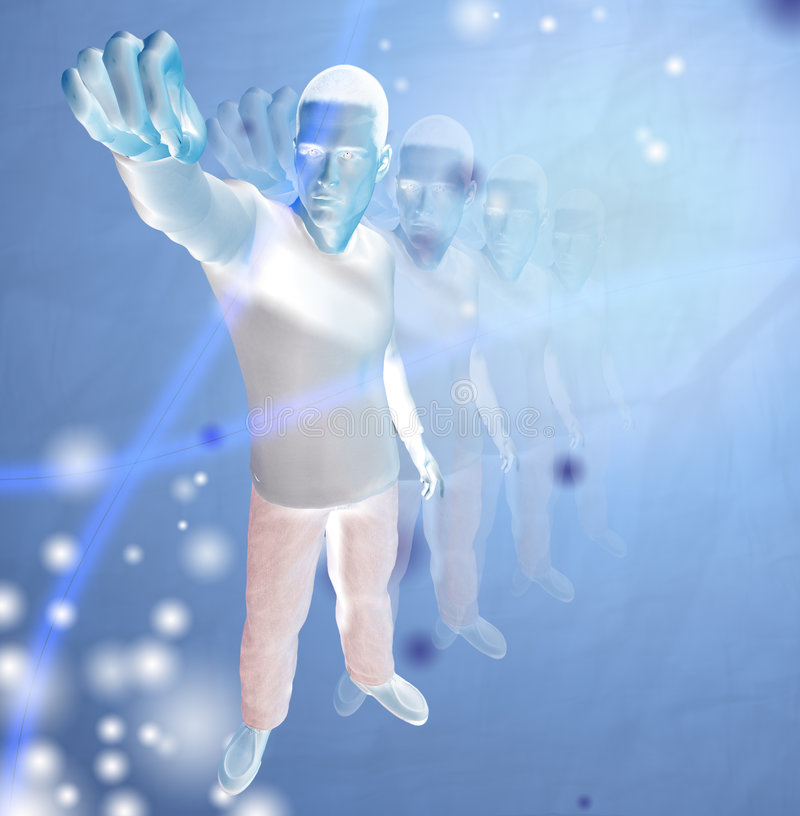 abstrakt human vektor illustrationer
