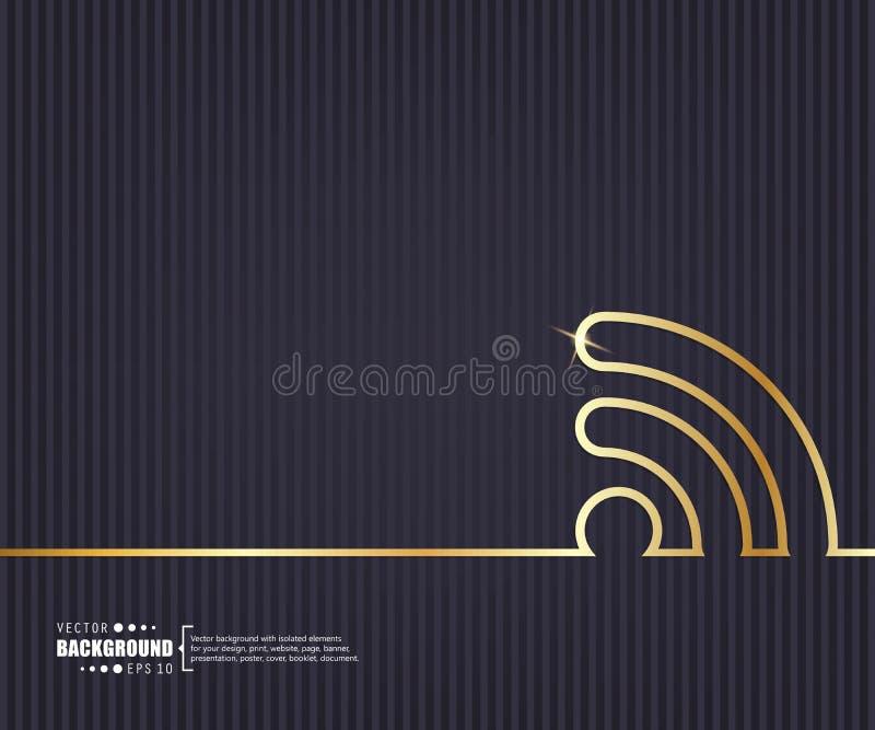Abstrakt idérik begreppsvektorbakgrund För rengöringsduk- och mobilapplikationer illustrationmalldesign, affär stock illustrationer