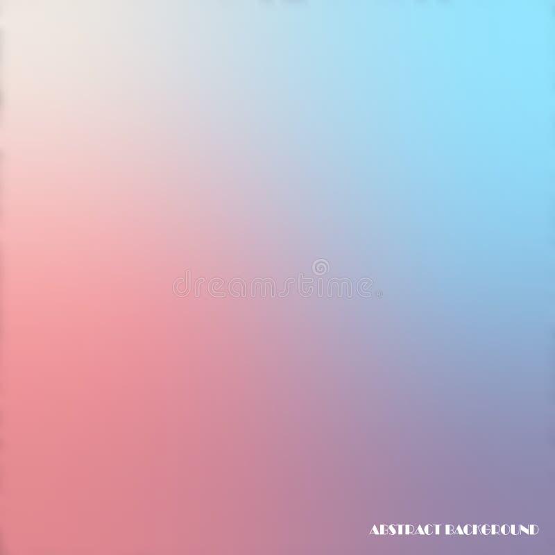 Abstrakt idérik flerfärgad suddig bakgrund för vektor stock illustrationer