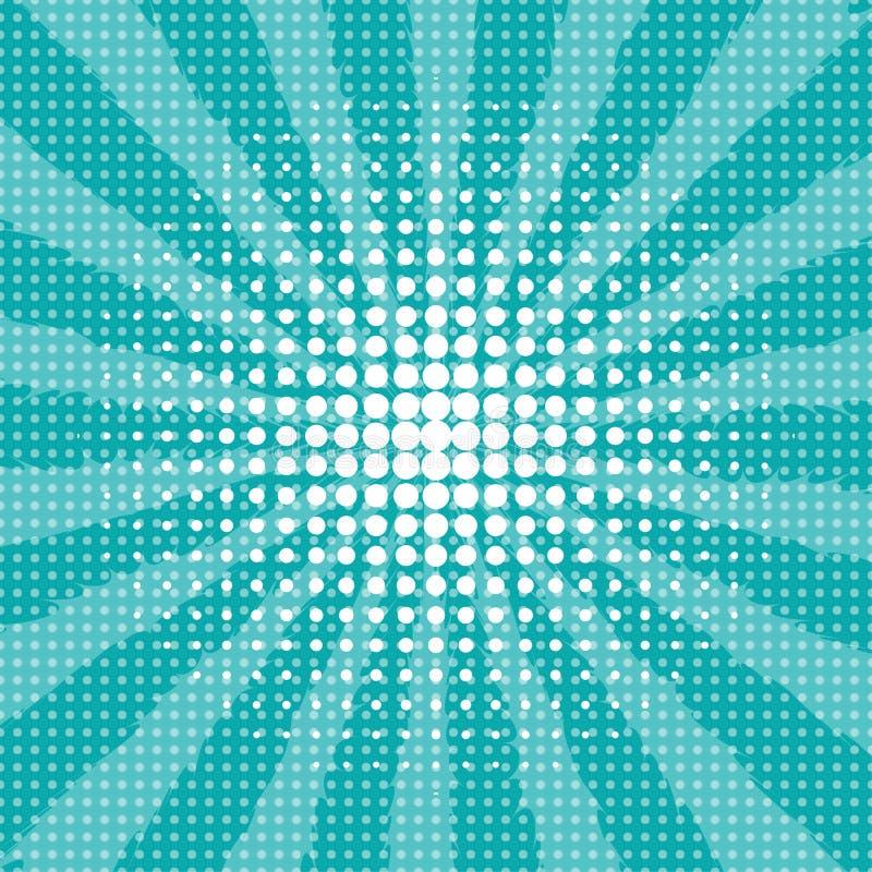 Abstrakt idérik stil för konst för pop för begreppsvektorkomiker vektor illustrationer