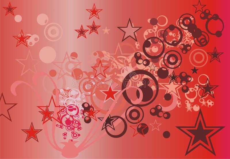 abstrakt illustration royaltyfri illustrationer