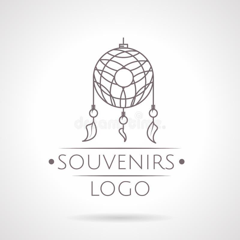 Abstrakt illustration av drömstopparesymbolen med royaltyfri illustrationer