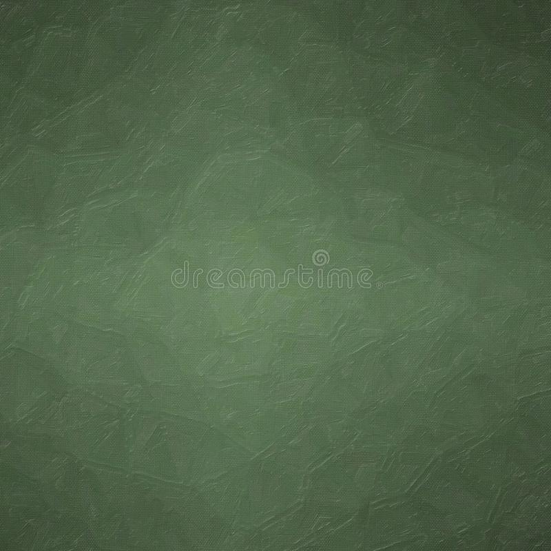 Abstrakt illustration av fyrkantig mörk bakgrund för olje- målning för djungelgräsplankontrast som frambrings digitalt stock illustrationer