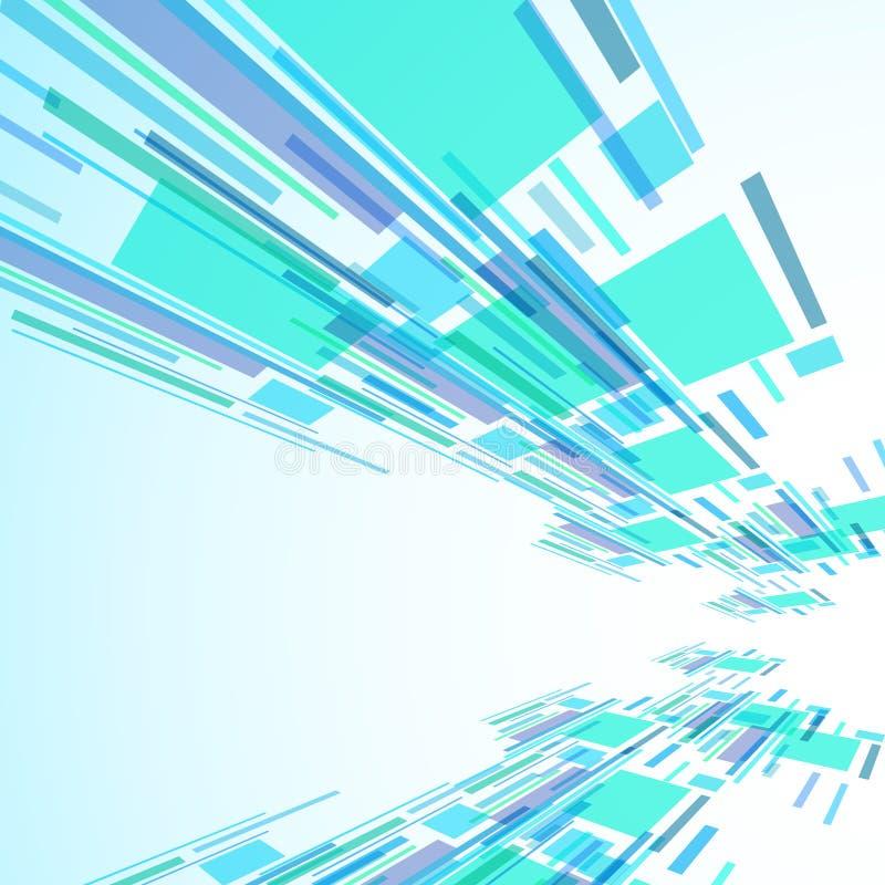 Abstrakt illustration, färgrik bakgrund vektor illustrationer