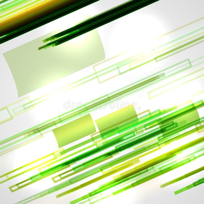 Abstrakt illustration, färgrik bakgrund stock illustrationer