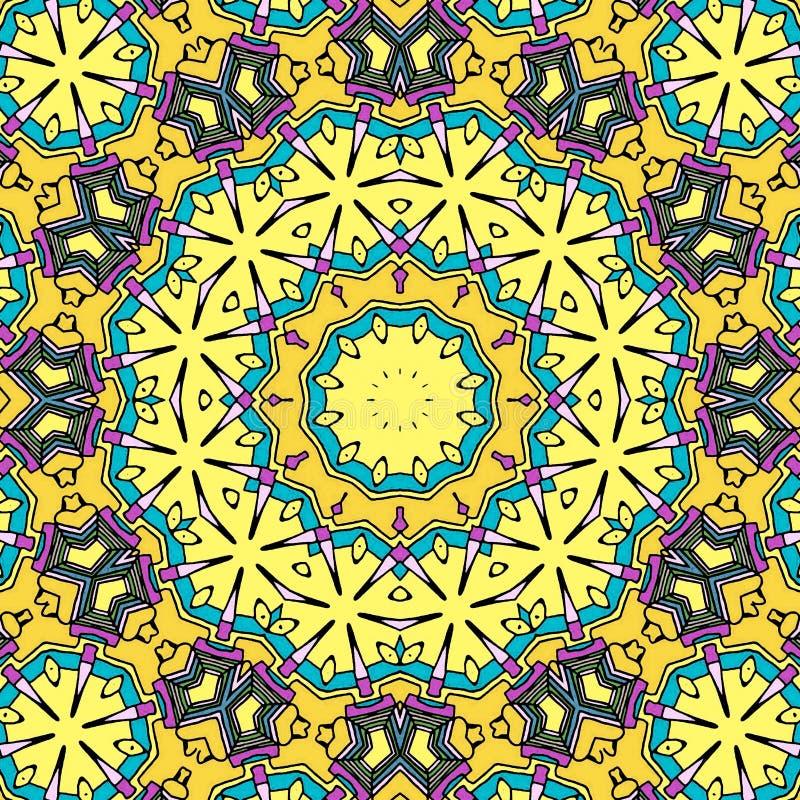 Abstrakt illustration i spiral form stock illustrationer