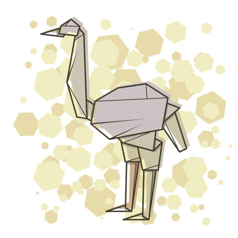 Abstrakt illustrationstruts för vektor vektor illustrationer