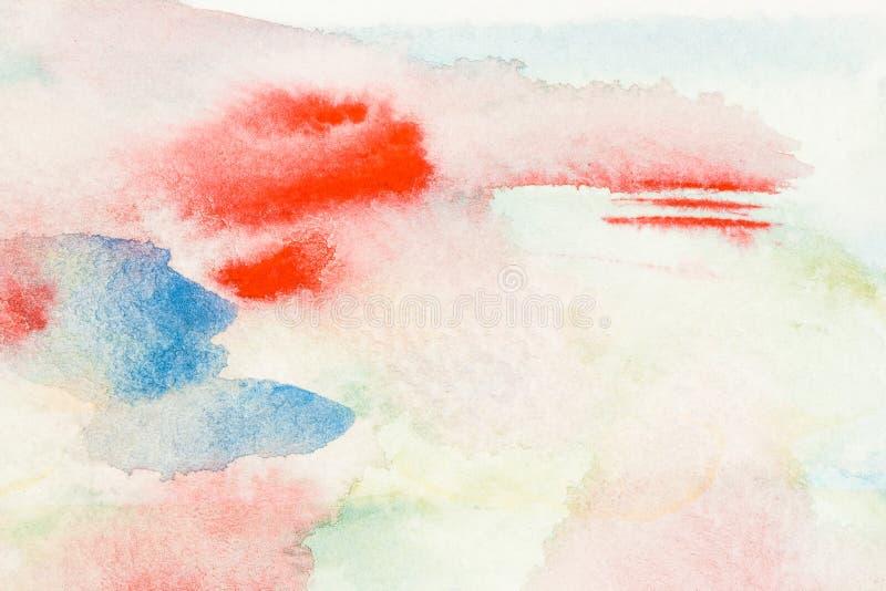 abstrakt illustrationvattenfärg royaltyfri illustrationer