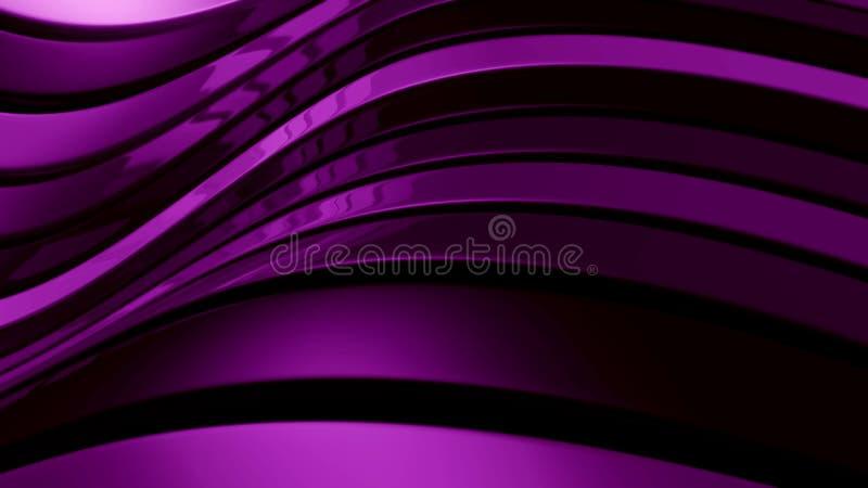 abstrakt illustrationviolet royaltyfria bilder