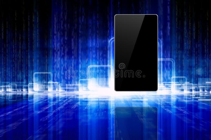 Abstrakt tablet, smartphone royaltyfri illustrationer