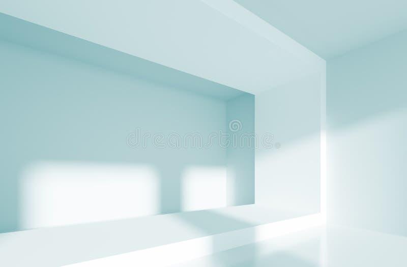 abstrakt interior royaltyfri illustrationer