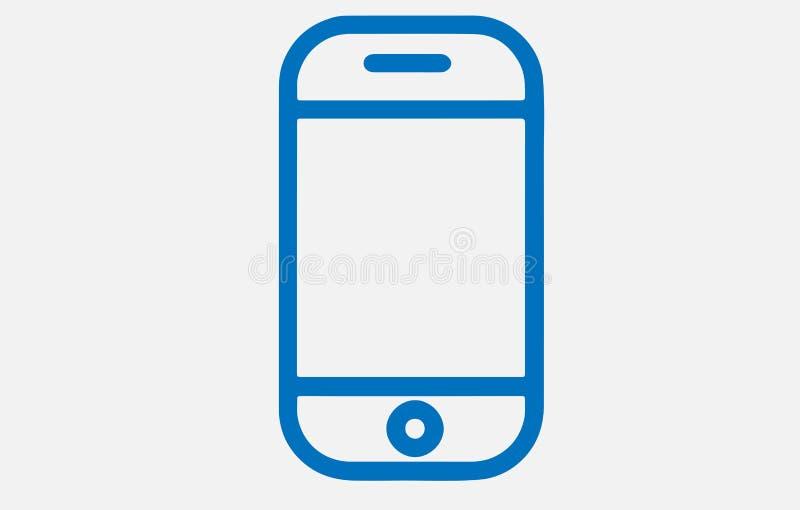 Abstrakt iPhonedesignillustration på vit vektor illustrationer