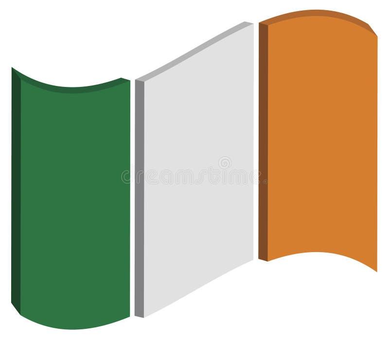 Abstrakt Irland sjunker