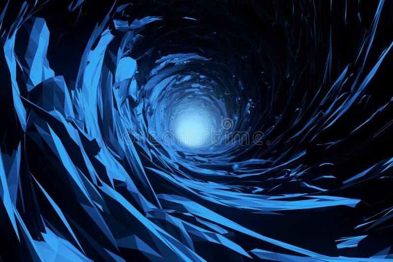 Abstrakt isgrotta fotografering för bildbyråer