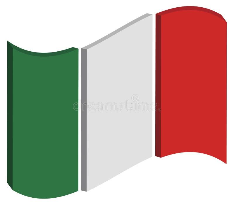 Abstrakt Italien sjunker