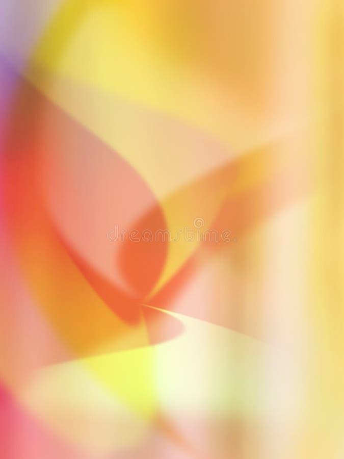 Abstrakt kühlen Sie Wellen ab lizenzfreie abbildung