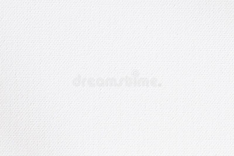 Abstrakt kanfasyttersida för designen, vit kanfastextur för bakgrund royaltyfria foton
