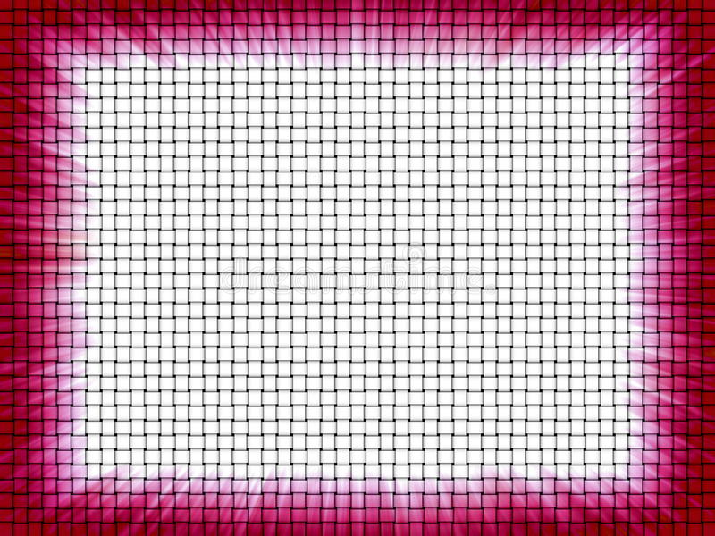 abstrakt kantgnäggande vektor illustrationer
