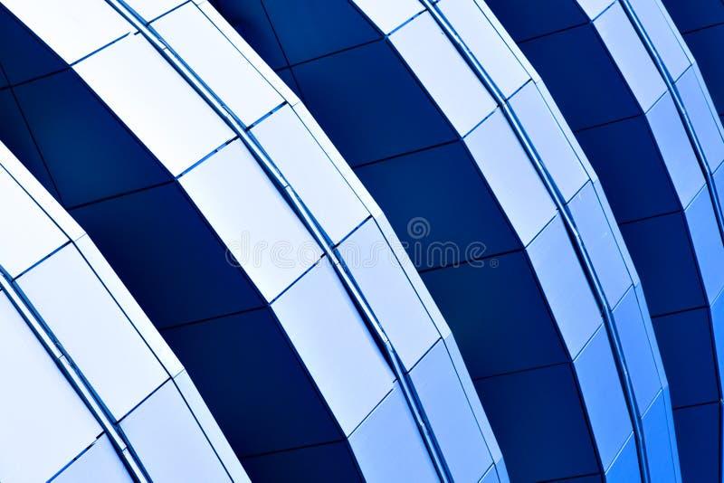 abstrakt kantjusteringsdiagonalskyskrapa royaltyfri foto