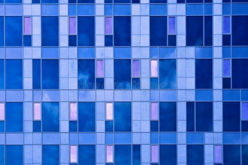 abstrakt kantjusteringsskyskrapafyrkant arkivfoto