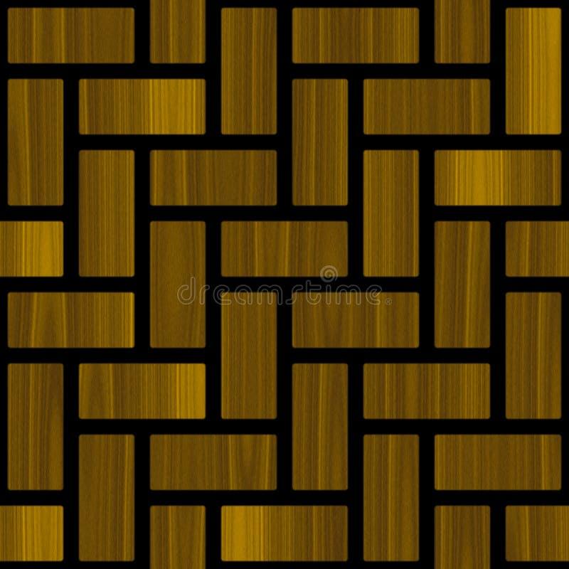 Abstrakt kasetonuje drewnianego wzór II ilustracji