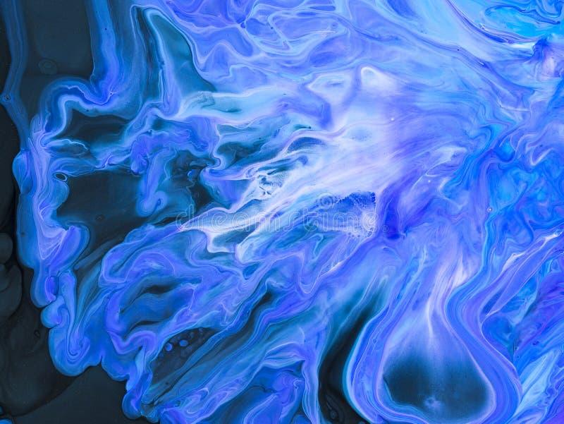 abstrakt konstbakgrund Oljemålning på kanfas Fragment av konstverk Fläckar av olje- målarfärg modern konst Samtida konst royaltyfri illustrationer