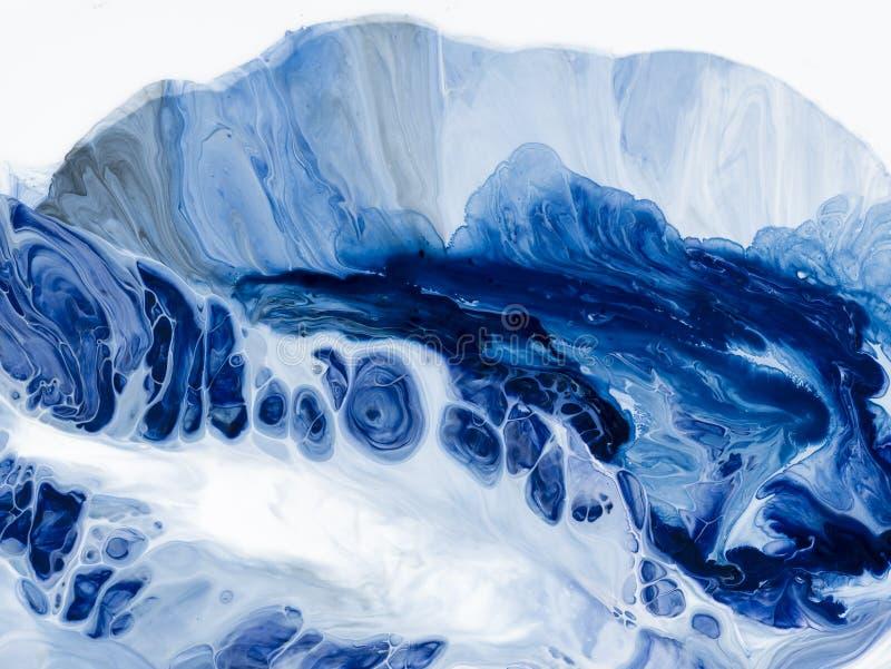 abstrakt konstbakgrund Oljemålning på kanfas Fragment av konstverk Fläckar av olje- målarfärg modern konst Samtida konst vektor illustrationer