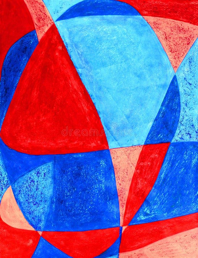 abstrakt konstbakgrundsförälskelse royaltyfri illustrationer