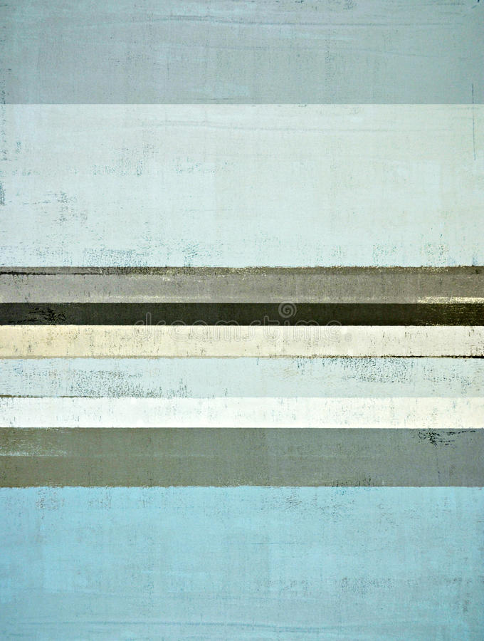 Abstrakt konstmålning för blått och för grå färg royaltyfria foton
