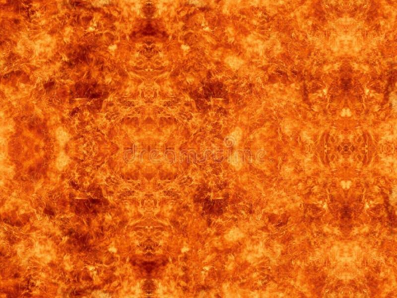 Abstrakt konstnärlig ljus farlig driftig brännhet konstverkbakgrund arkivbild