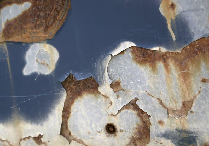 Abstrakt korrosionsdetalj arkivbild