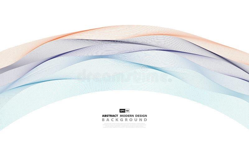 Abstrakt krabb färgrik modellräkningsbakgrund Illustrationvektor eps10 stock illustrationer
