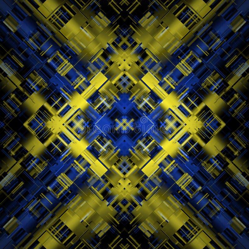 Abstrakt kraftigt bakgrundsobjekt vektor illustrationer
