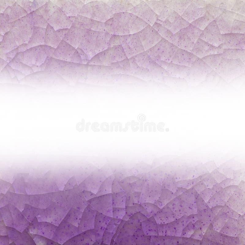 Abstrakt, Krakingowy szklany tło ilustracji