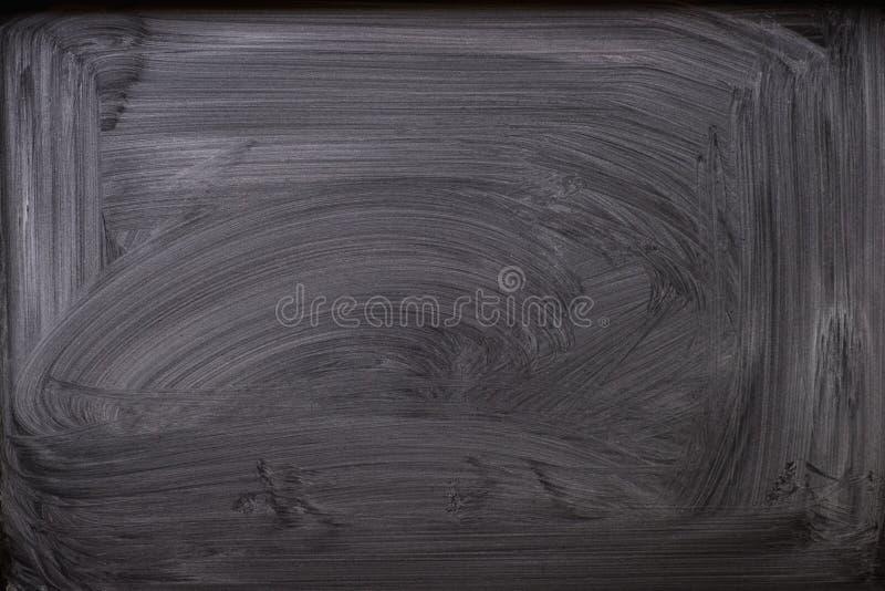 Abstrakt kreda nacierał out na blackboard dla tła tekstura dla dodaje tekst lub graficznego projekt obraz stock