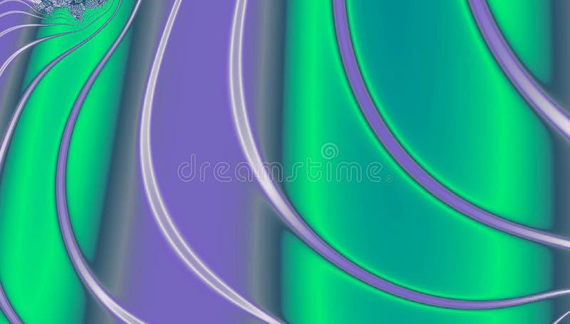 Abstrakt kricka och violett holographic futuristisk textur vektor illustrationer