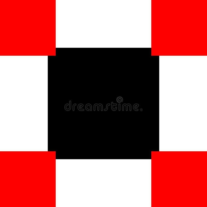 Abstrakt kubmodellbakgrund, illustration f?r vektordiagram royaltyfri illustrationer