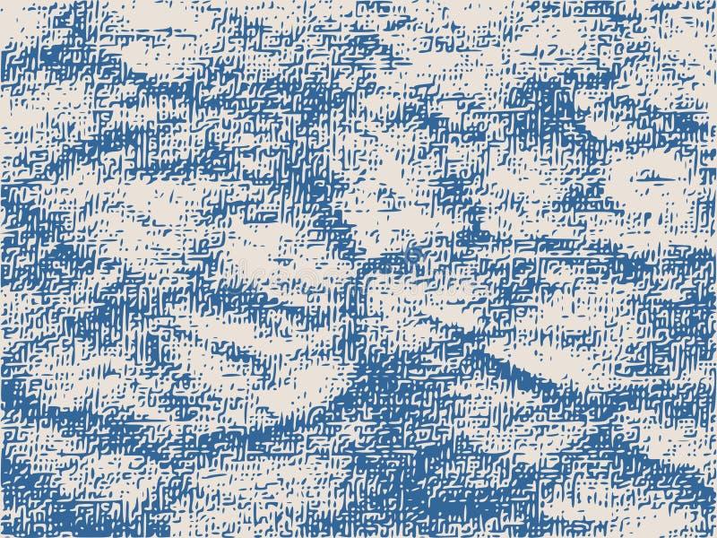 Abstrakt lättnadsyttersidabakgrund stock illustrationer