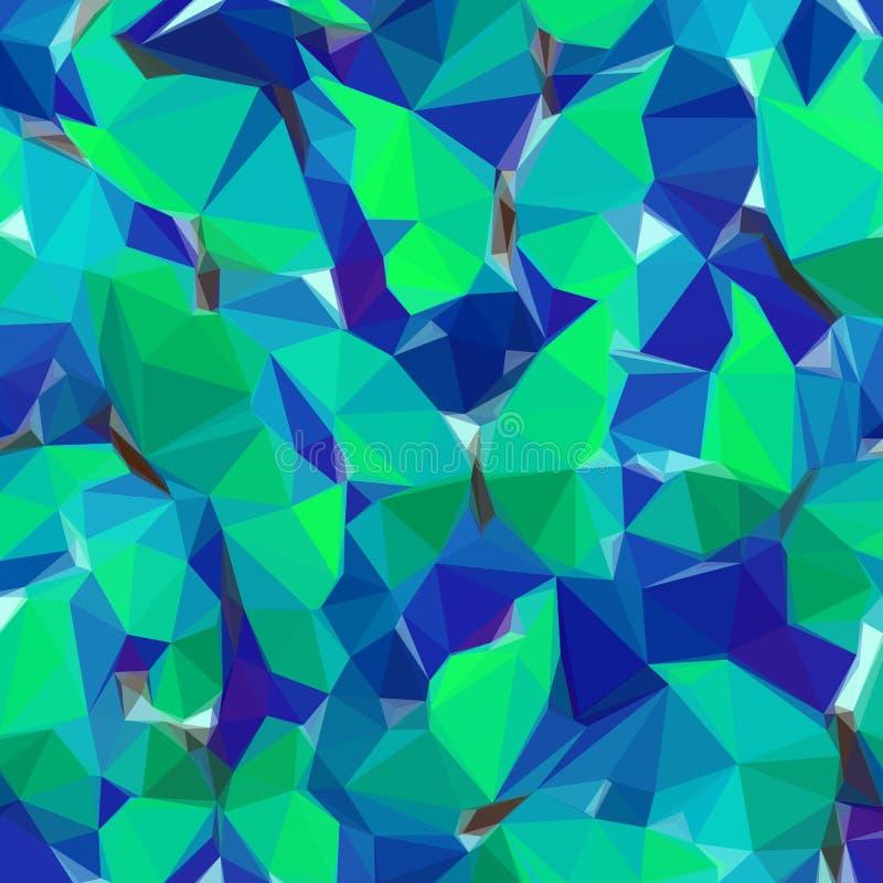Abstrakt låg poly bakgrund vektor illustrationer