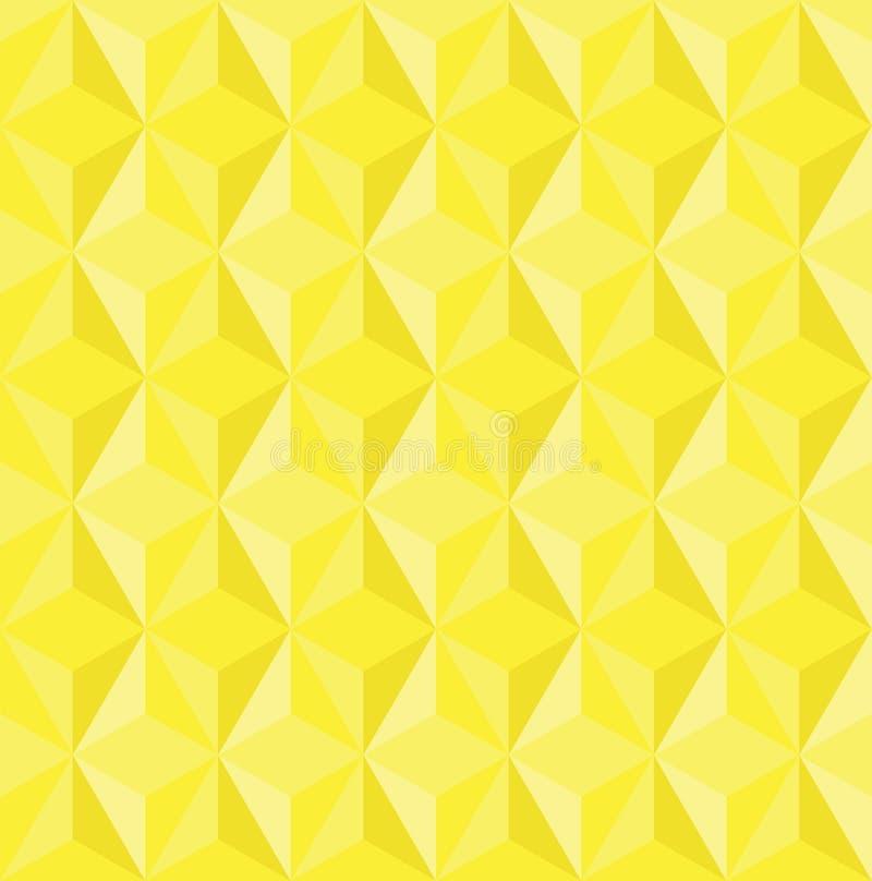 Abstrakt låg poly triangeltexturbakgrund stock illustrationer
