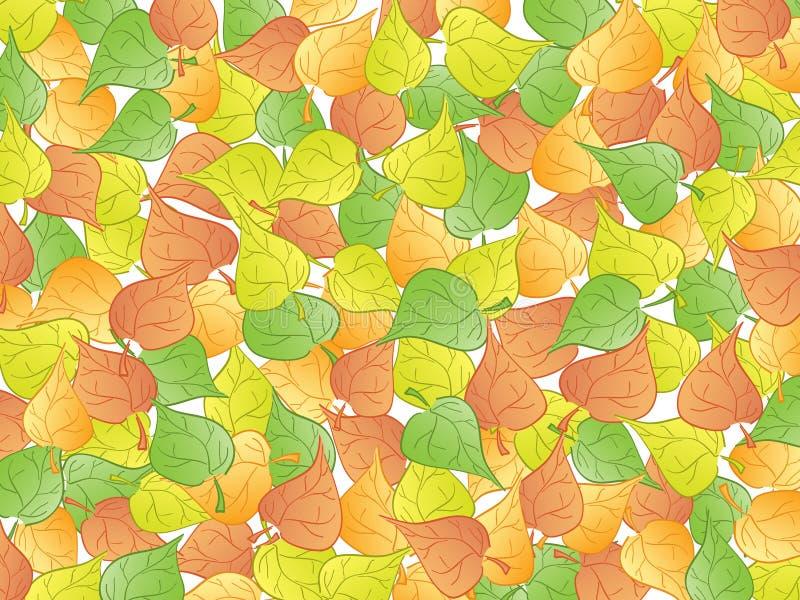 abstrakt leaf stock illustrationer