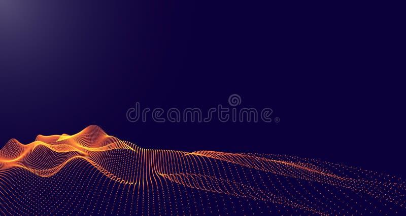 abstrakt liggandevektor stock illustrationer