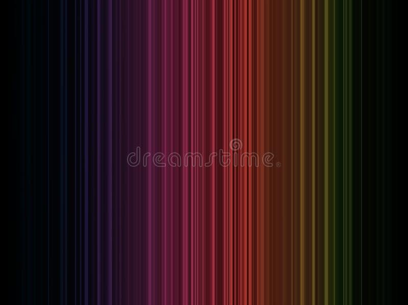 Abstrakt linii pasiasty tło royalty ilustracja