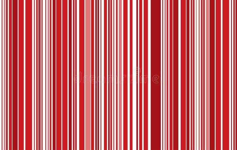 Abstrakt linje för röd färg illustration för modellbakgrundsvektor stock illustrationer