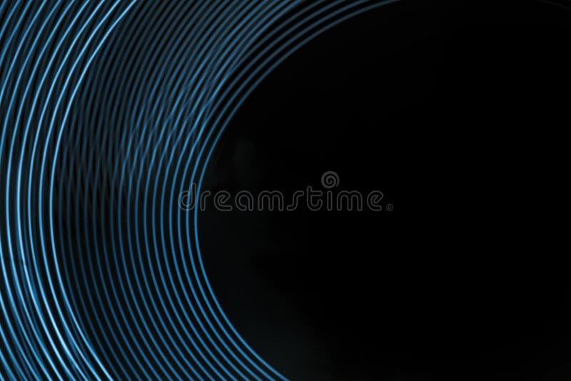 Abstrakt linje från LETT ljus royaltyfri illustrationer